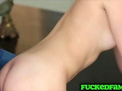 happy birthday jessica rex fuck stepdad dick while mom makes a cake