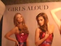 jerking over a sexy girls aloud poster