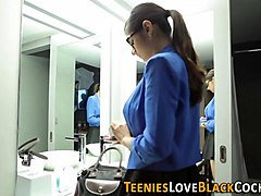 indian teen spunked black