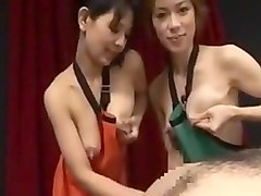 Japan bursting with milk straight from the tits