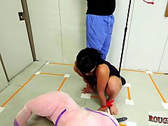 tiny bondage and cock milking machine bondage xxx talent ho