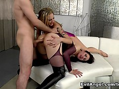 Crazy pornstars Sarah Shevon, James Deen in Horny Pornstars, Big Ass sex video