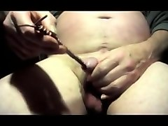 Sounding urethral man gay crossdresser dildo toy cock