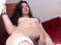 Crazy Amateur Shemale video with Masturbation, Big Asses scenes