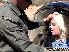 fake taxi police revenge blonde honey does it on the rubber