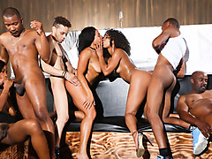 Misty Stone & Chanell Heart & Jezabel Vessir & Quinn Quest in Black Kings And Queens, Scene #01 - DevilsFilm