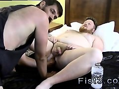 gay twink after fisting sky works brock's hole with his fist