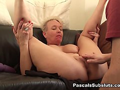 Scarla in solo orgasm denied again & again - PascalsSubSluts