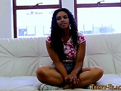 black teen pov creampied