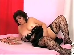 Horny Amateur clip with Young/Old, Stockings scenes