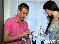 amateur russian teen is ready for a cuckold session