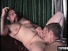 hot transsexual strapon with cumshot