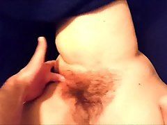 fingering hairy wet pussy