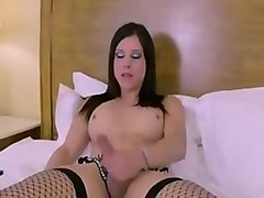 Fabulous Amateur Shemale clip with Masturbation, Big Asses scenes