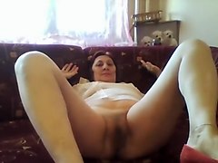 Crazy Homemade video with Hairy, Solo scenes