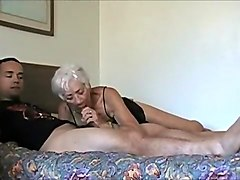 Amazing Amateur clip with Young/Old, Webcam scenes