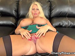 Horny pornstar Karen Fisher in Incredible Big Ass, Masturbation porn clip
