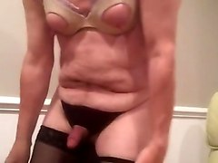 Artemus - crossdressed strips and cums