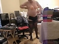 Fabulous amateur gay scene with Crossdressers, Solo Male scenes