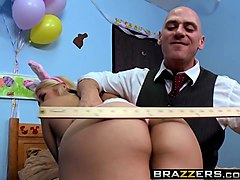 brazzers - big tits at school - easter egg cunt scene starring sarah vandella and johnny sins