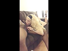 amateur cuckold blowjob first time adorable