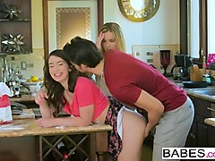 babes - step mom lessons - oops i made a mess