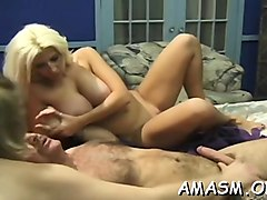 amateur smothering porn with hottie addicted to dick