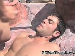 aussie gay boy sex xxx he pulls that shaft out and milks tha