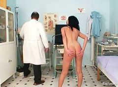 Gabina humiliated during kinky gyno speculum..