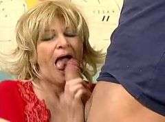 Russian Mature Teacher Fucking Student