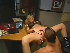 Bigboobs Horny Offcie Babe Fucking In Office Table
