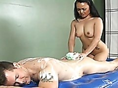 Mya Luanna Gives Sensual Soapy Massage