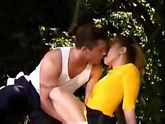 Cheerleader Kitty Marie Having Sex Outdoor