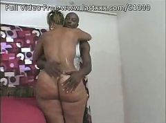 Big ebony ass banged hard