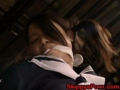 Japanese Girls Humiliation With Dildos