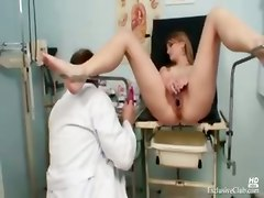 Ma Gyno Fetish Teen Pussy Speculum Examination By Old Gynodoctor