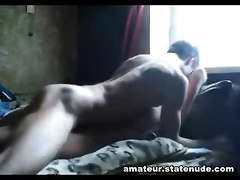 Russian Teen Couple Sperm Shot