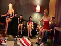Lusty Club Chick Gets Gaped