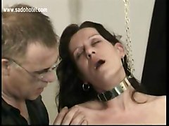 Two Masters Let Slave Lick The Feets Of Other Tied Hot Slave And Play With Her Tight Pussy