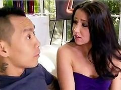 AMWF Lola Foxx interracial with Asian guy