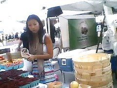 Sweet Asian Chick With A Nice Ass At The Market.