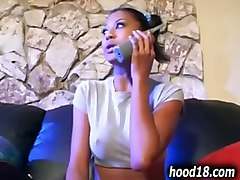 Beautiful Ebony Fucked By Cop