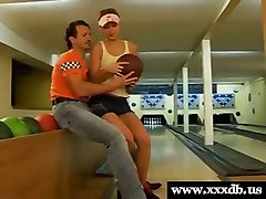 Hot Teen Fucked In The Bowling Alley