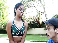 Horny Coach Fucking Cheerleader