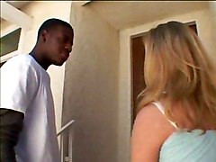 Blonde Knows How To Milk A Black Dick