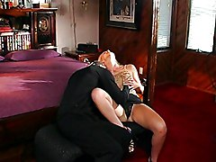Blonde Fucking And Tit Spermed