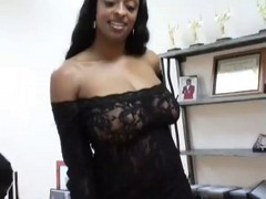 2 Ebony Wifes Doing A White Boy
