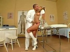 Julia Taylor In Nurse Clothes Take In The Ass