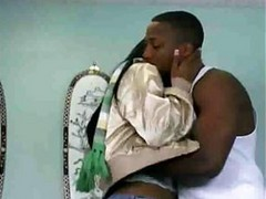 Hot Ebony Body Gets Spermed